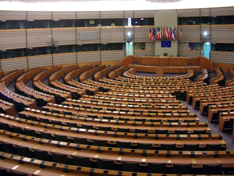Le parlement européen à Bruxelles - Crédit : © XtravaganT - Fotolia.com