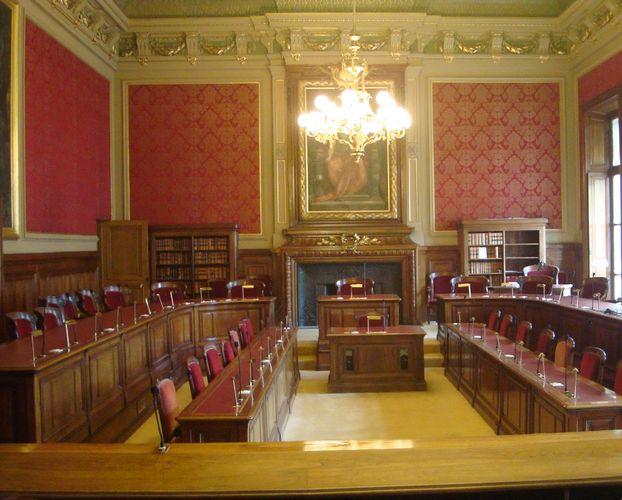 Conseil d'Etat salle de la section du contentieux - Crédit : PT.