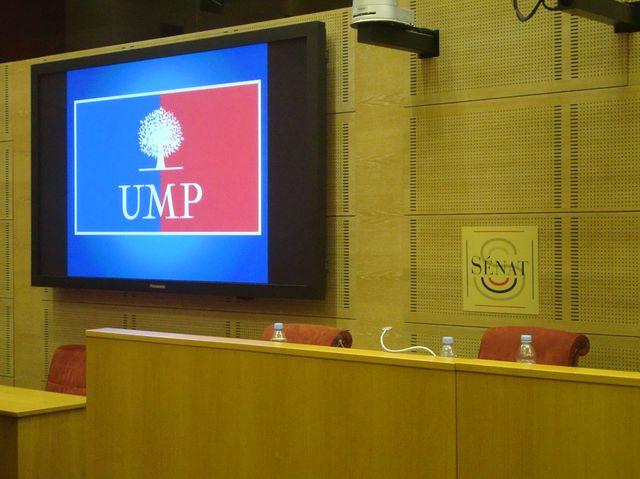 Election du président du groupe UMP au Sénat - 2 oct. 2014 © PT.