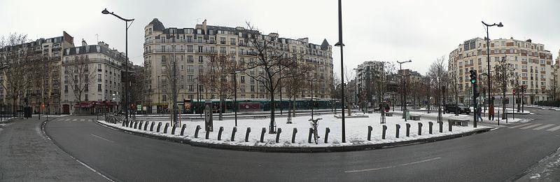 Photo panoramique de la Porte de Châtillon à Paris © Pymouss sous licence Creative Commons