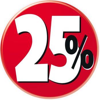 25 % © cybercrisi - Fotolia.com
