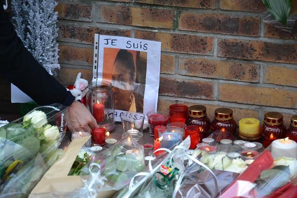Clarissa Jean-Philippe, policière assassinée à proximité de l'école juive de Montrouge @ VD