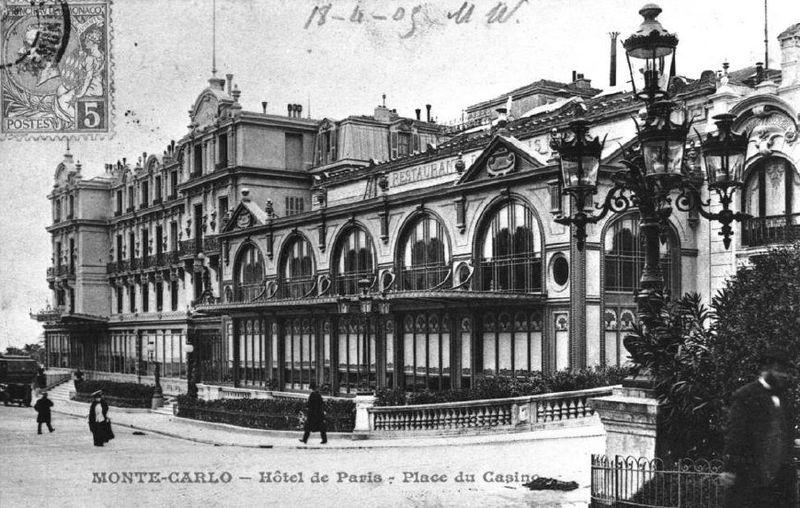 L'hôtel de Paris en 1904 © Archives SBM