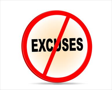 Excuses refusées © sixthlife - Fotolia.com
