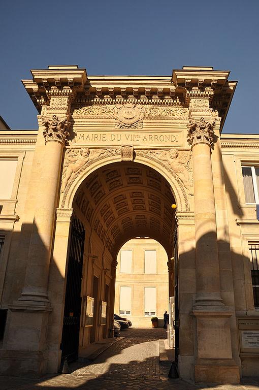 Mairie du 7e arrondissement de Paris © Moonik sous licence creative commons.