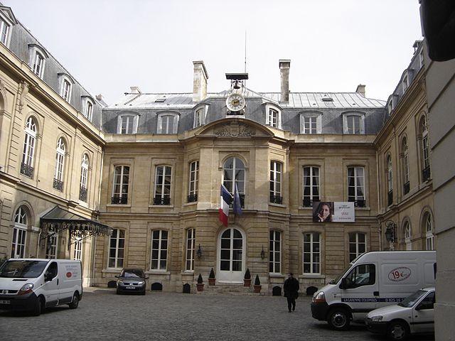 Mairie du 9ème arrondissement de Paris © Gérard Janot sous licence creative commons.