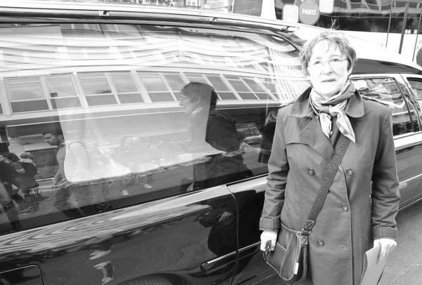 Béatrice Boivin aux côtés de Pierre Brossolette © VD.