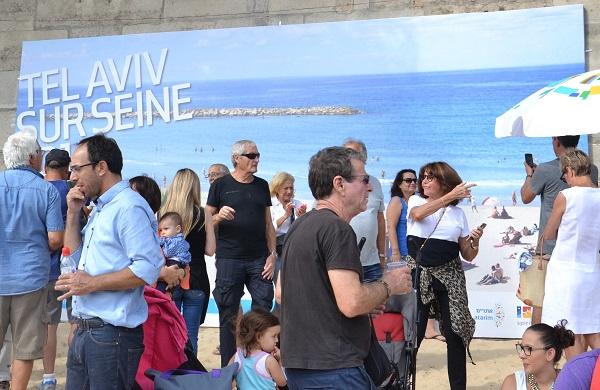 Tel Aviv sur Seine © Paris Tribune