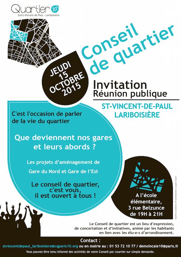 Conseil de quartier Saint-Vincent-de-Paul Lariboisière © CQ LSVP.