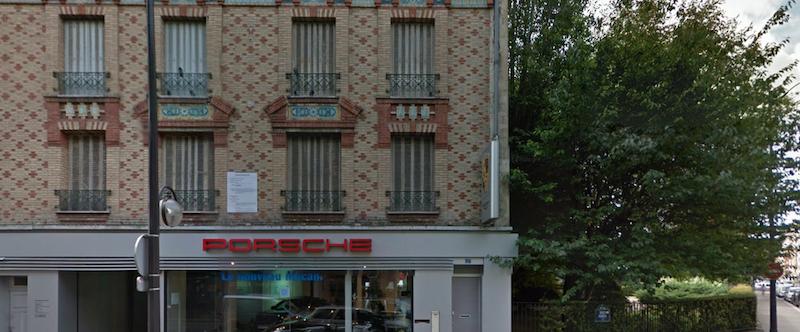 Immeuble situé au 17 rue Gros avant sa réhabilitation en août 2014 © Google Maps.