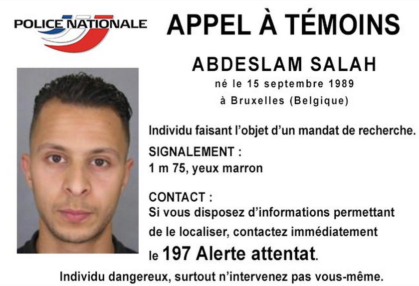 Attentats de Paris Appel à témoin © Police Nationale