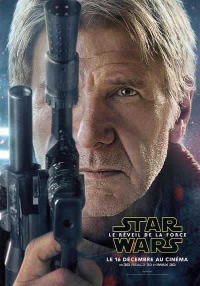 Harrison Ford est de retour dans Star Wars ©  Lucas Film.