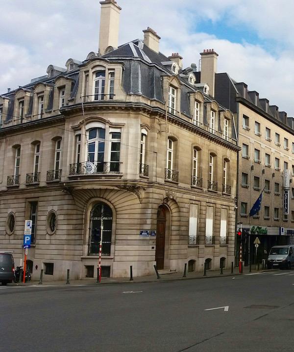Bruxelles, ville déserte - Photo RD - Paris Tribune.