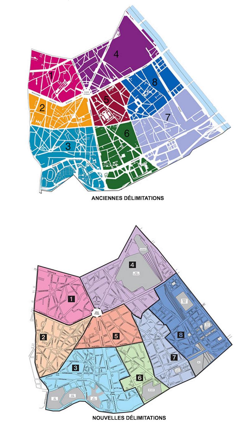 Redécoupage des conseils de quartiers du 13e arrondissement de Paris © mairie13.paris.fr