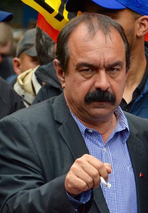 Philippe Martinez Secrétaire général de la CGT depuis le 3 février 2016 © VD Paris Tribune (archives)