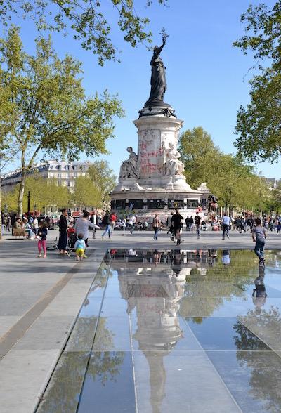 Place de la République à Paris © Archives Paris Tribune.