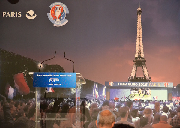 Présentation de la Fan zone Tour Eiffel