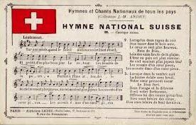 Le Cantique suisse, hymne national suisse - Musique : Alberich Zwyssig (1808-1854).
