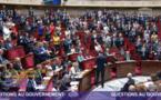 Les députés En Marche se lèvent pour Edouard Philippe lros des questions au gouvernement le 9 octobre 2018 © capture d'écran