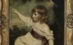 Master Hare de Sire Joshua Reynolds (1723 - 1792) H. 0,77 m ; L. 0,64 m ; Musée du Louvre Département des Peintures, RF 1580 © 2007 Musée du Louvre / Angèle Dequier.