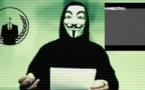 Message des Anonymous en direction de Daesh Etat Islamique © Capture d'écran Anonymous - You Tube.