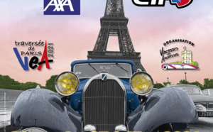 14e Traversée en véhicules d'époque à Paris