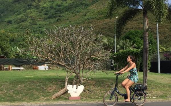 Etre cycliste entre Punaauia et Papeete : un défi en 2019