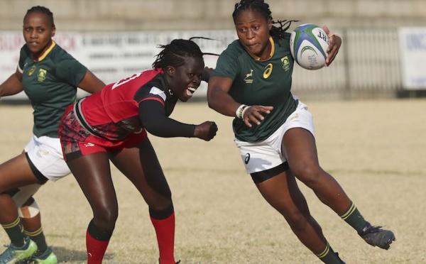 Coupe du monde de rugby féminin : l'Afrique du Sud bat l'Ouganda lors de la Coupe d'Afrique de rugby féminin