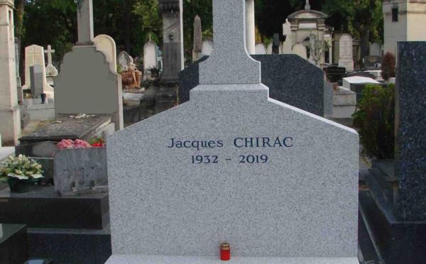 Le mausolée de Jacques Chirac