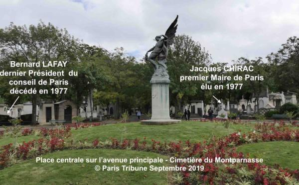Jacques Chirac enterré à proximité du dernier président du conseil de Paris