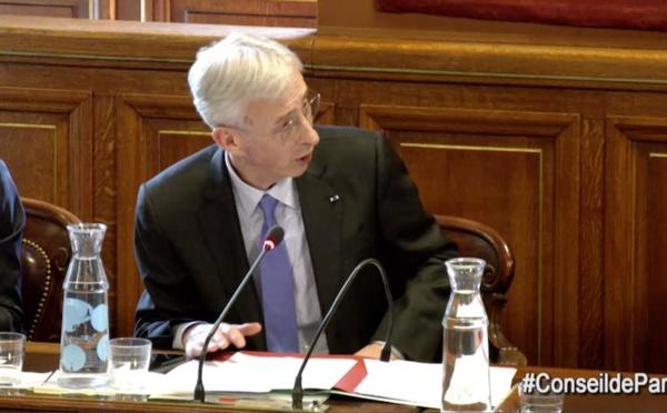 Recadrage en direct entre le Préfet de police de Paris Didier Lallement et la Maire de Paris Anne Hidalgo