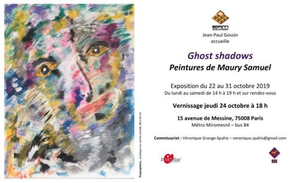 Ghost shadows : première exposition en France de l'artiste américain Maury Samuel