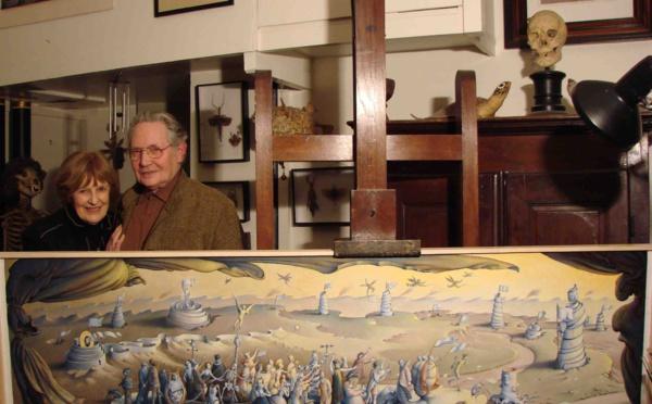 Disparition d'un artiste-peintre majeur des cent dernières années : Claude Verlinde