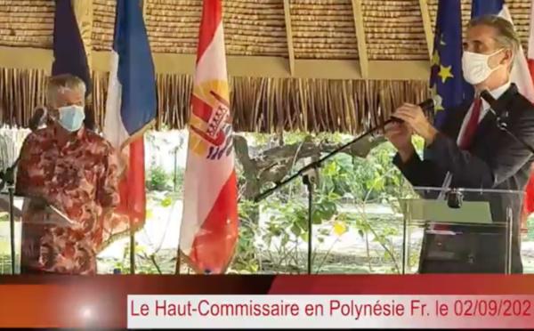 Covid : le Haut-commissaire parle d'un record en Polynésie française