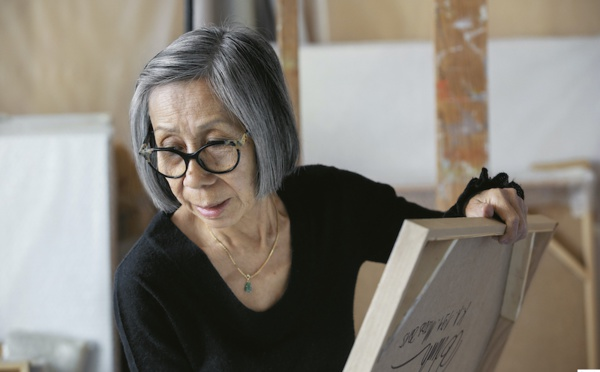 Huong Dodinh showing at Musée Guimet in late October 2021