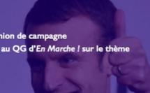 Des centristes Parisiens à la rencontre d'Emmanuel Macron