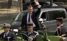 Le premier discours d'Emmanuel Macron Président de la République à l'Elysée