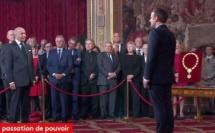 Laurent Fabius à Emmanuel Macron : « Homme de notre temps assurément vous l'êtes»