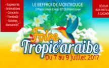 LA FOIRE TROPIC'ARAIBE DU 7 AU 9 JUILLET 2017