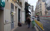 Agression au DAB de la BNP rue de Sèvres