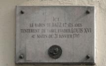 L'évasion a échoué : décapitation de Louis XVI le 21 janvier 1793