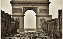 A Paris l'avenue des Champs-Elysées est aux piétons le dimanche 4 février 2018
