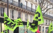 Manifestation pour les cheminots à Paris : la Préfecture publie son bilan, Sud Rail proteste
