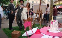 Le pique-nique chic du Prix de Diane 2010