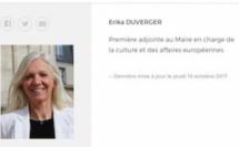 Erika Duverger démissionne de son mandat pour raisons de santé