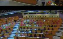 Le vote qui provoque l'absence de quorum au conseil régional Ile-de-France