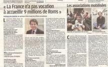 Roms : un lecteur du quotidien Le Parisien juge sur pièce le journal