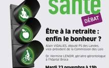 """23 novembre 2010 : Débat """"Etre à la retraite : enfin le bonheur ?"""""""