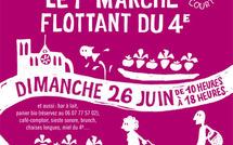 26 juin 2011 : 1er marché flottant bio
