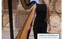 4 décembre 2011 : Concert de harpe dans les salons de la Belle Juliette
